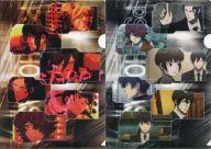 オレンジ&グレー(PSYCHO-PASS サイコパス2) A4クリアファイルセット(2枚組) 「アニくじ PSYCHO-PASS サイコパス」 E-2賞