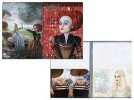 赤の女王/白の女王&トゥイードルダムとトゥイードルディー A4ダブルポケットクリアファイル 「アリス・イン・ワンダーランド」