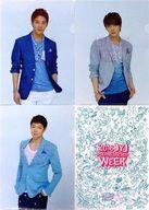 JYJ A4クリアファイルセット(4枚組) 「2013 JYJ MEMBERSHIP WEEK」 オフィシャルツアー参加特典