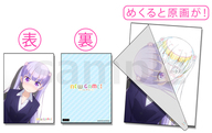 A.涼風青葉 A4セル画&原画見比べクリアファイル 「NEW GAME!」