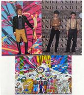 ゆず A4クリアファイルセット(3枚組) 「YUZU ARENA TOUR 2013 GO LAND」