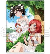 μ's(真姫&にこ) ラブライブ!総合マガジン Vol.1 A4クリアファイル 「ラブライブ!」
