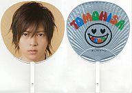 山下智久 ジャンボうちわ(シルバー) 「NEWS CONCERT TOUR pacific 2007-2008」 東京ドーム会場限定