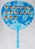 チームB(AKB48) うちわ 「神公演予定*諸般の事情により、神公演にならない場合もありますのでご了承ください。」