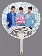 JYJ うちわA 「2013 JYJ MEMBERSHIP WEEK」 オフィシャルツアー参加特典