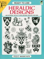 <<洋書>> Ready-to-Use Heraldic Designs / MaggieKate