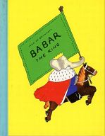 <<洋書>> BABAR THE KING / Jean de Brunhoff