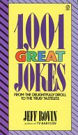 <<海外文学>> 1001 GREAT JOKES / Jeff Rovin