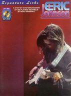 <<洋楽>> CD付)Eric Johnson Guitar Signature Licks