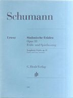 <<洋書>> SCHUMANN:Symphonic Etudes op.13 Early and Late Versions