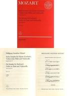 <<その他>> 付録付)Mozart/Sechs Sonaten fur Klavier (Cembalo). Violine (oder Flote) und Violoncello
