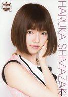 島崎遥香/バストアップ・衣装ピンク・黒/AKB48 CAFE&SHOP限定 A4サイズ生写真ポスター 第78弾