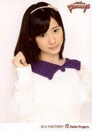 モーニング娘。/生田衣梨奈/バストアップ・衣装白紫・右手グー/モーニング娘。コンサートツアー2012春 ~ ウルトラスマート ~