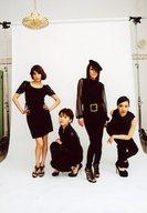 SPEED/集合(4人)/全身・衣装黒・背景白/「SPEED TOUR 2010~Glowing Sunflower~」グッズ購入特典未公開プレミア生写真
