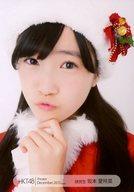 坂本愛玲菜/バストアップ/劇場トレーディング生写真セット2015.December