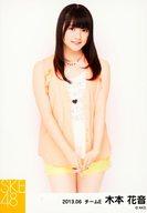 木本花音/膝上・両手組み下・「ネオンカラー私服衣装」/「2013.06」個別生写真