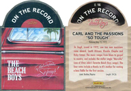NO.16 : ザ・ビーチ・ボーイズ/ON THE RECORD(インサート)/2013 PANINI THE BEACH BOYS TRADING CARD
