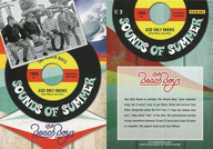 NO.3 : ザ・ビーチ・ボーイズ/集合(4人)/SOUNDS OF SUMMER(インサート)/2013 PANINI THE BEACH BOYS TRADING CARD