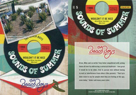 NO.5 : ザ・ビーチ・ボーイズ/集合(6人)/SOUNDS OF SUMMER(金箔押し)(インサート)/2013 PANINI THE BEACH BOYS TRADING CARD