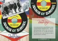 NO.6 : ザ・ビーチ・ボーイズ/集合(5人)/SOUNDS OF SUMMER(インサート)/2013 PANINI THE BEACH BOYS TRADING CARD