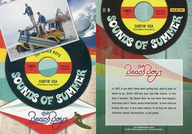 NO.9 : ザ・ビーチ・ボーイズ/集合(5人)/SOUNDS OF SUMMER(金箔押し)(インサート)/2013 PANINI THE BEACH BOYS TRADING CARD