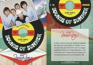 NO.10 : ザ・ビーチ・ボーイズ/集合(5人)/SOUNDS OF SUMMER(インサート)/2013 PANINI THE BEACH BOYS TRADING CARD