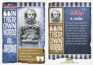 NO.5 : ザ・ビーチ・ボーイズ/アル・ジャーディン/IN THE OWN WORDS(インサート)/2013 PANINI THE BEACH BOYS TRADING CARD