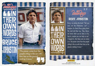 NO.7 : ザ・ビーチ・ボーイズ/ブルース・ジョンストン/IN THE OWN WORDS(金箔押し)(インサート)/2013 PANINI THE BEACH BOYS TRADING CARD