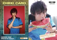 CHEKI : 猪野広樹/生チェキカード(100/255)/猪野広樹 ファースト・トレーディングカード