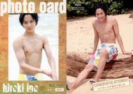 PHOTO : 猪野広樹/生写真カード(/150)(膝上・上半身裸・水着)/猪野広樹 ファースト・トレーディングカード