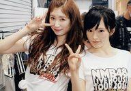 吉田朱里・山本彩/「yukitsun.」/「NMB48 スクールカレンダー 2017-2018 蔵出し! ゆきつんカメラ」封入特典生写真