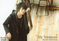 浪川大輔/横型・膝上・左寄り・カメラ目線/CD「My Treasure」発売記念イベント お渡し会特典ブロマイド