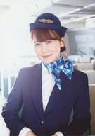 小嶋真子/上半身・帽子・キャビンアテンダント制服/雑誌「UTB(アップトゥボーイ)vol.252 2017年4月号」AKB48 グループショップ(Net Shop)限定特典生写真