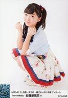 B : 安藤愛璃菜/「NMB48 [上西恵・薮下柊・藤江れいな]卒業コンサート」ランダム生写真