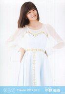 中野郁海/膝上/AKB48 劇場トレーディング生写真セット2017.August1 「2017.08」
