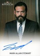 - [直筆サインカード] : Mark Allan Stewart as Agent Oliver(FullBleed)(直筆サイン入り)