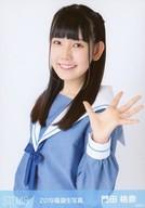 門田桃奈/上半身・衣装青/2019年 STU48 福袋 ランダム生写真