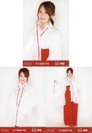 ◇込山榛香/2019年 AKB48 福袋 ランダム生写真 3種コンプリートセット