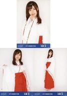 ◇佐藤朱/2019年 AKB48 Team 8 福袋 ランダム生写真 3種コンプリートセット