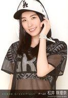 松井珠理奈/上半身・左手髪/AKB48 個別生写真「Green Flash」