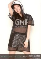 松井珠理奈/膝上・右手頭・左手下/AKB48 個別生写真「Green Flash」