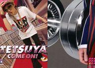 025 : TETSUYA/CD「COME ON!(初回仕様限定盤)」封入トレカ