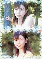 91 : 上原まゆみ/レギュラーカード/上原まゆみ トレーディングカード2001