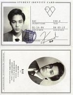 EXO-K/KAI/CD「EXO 1集 - XOXO 『Kiss Version』(韓国版)『Hug Version』(中国版)」特典トレカ