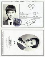 EXO-K/D.O./CD「EXO 1集 - XOXO 『Kiss Version』(韓国版)『Hug Version』(中国版)」特典トレカ