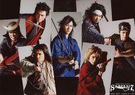 集合(7人)/横型・2Lサイズ/青山メインランド presents 『SAMURAI 7』生写真全種購入特典生写真
