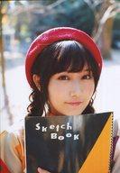 矢倉楓子/バストアップ・帽子赤・スケッチブック/雑誌「UTB(アップトゥボーイ)vol.237 2016年1月号」AKB48 グループショップ(Net Shop)限定特典生写真