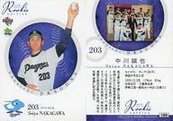 100 [レギュラーカード] : 中川誠也