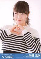 渋谷凪咲/バストアップ/映画「道頓堀よ、泣かせてくれ! DOCUMENTARY of NMB48」前売り券特典