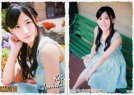 N143 : 上西恵/ノーマルカード(ロケーション White  ver.)/NMB48 トレーディングコレクション